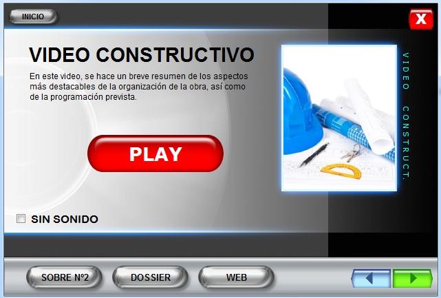 Imagen CD interactivo Video constructivo Estación Vigo Urzáiz
