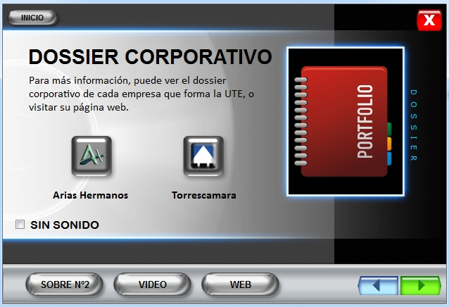 Imagen CD interactivo Dossier Estación Vigo Urzáiz