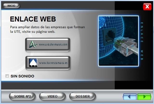 Imagen CD interactivo Enlace Web Estación Vigo Urzáiz