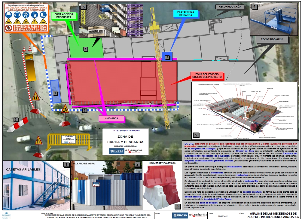 Acopios e instalaciones Ibermutuamur