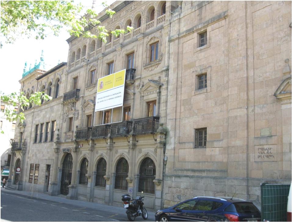 Fachada Memoria Histórica en Salamanca