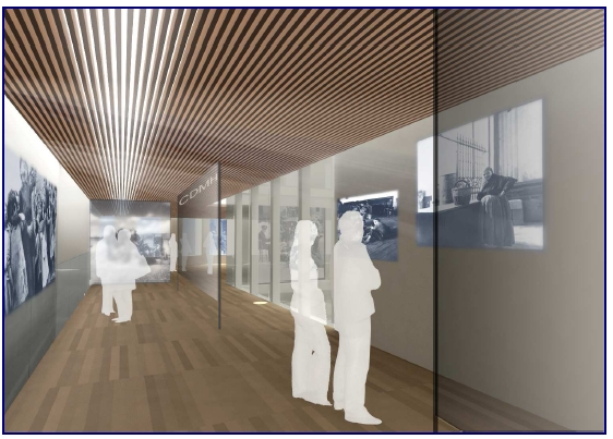 Interior Memoria Histórica en Salamanca