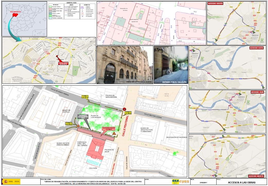 Acceso a las obras Memoria Histórica en Salamanca