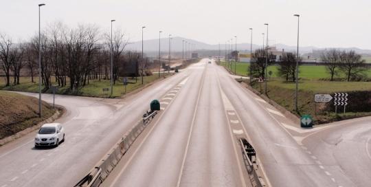 Autovía A-2 del Nordeste_Enlace Vidreres_SEITT 001